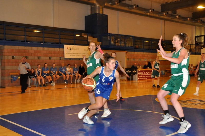 17/03/18 : P1 Dames CINEY / BOUGE