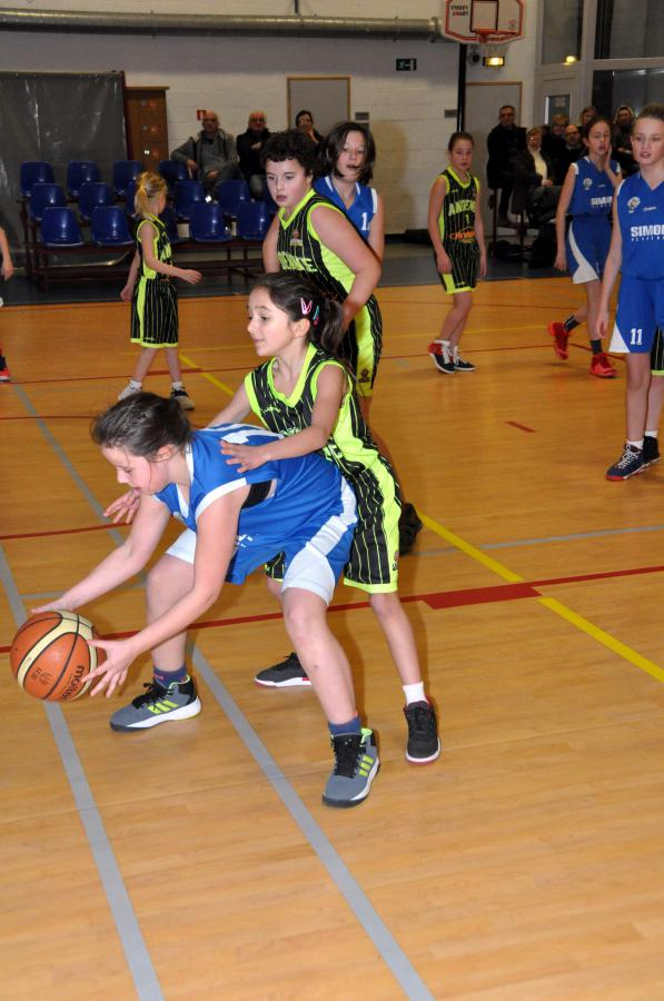 21/01/17 : U12 Filles CINEY / ANDENNE