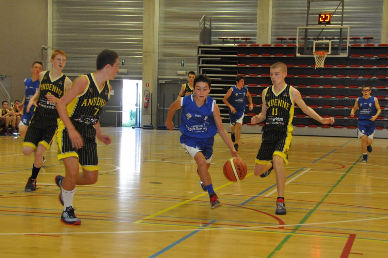 22/08/15 : U16 G Reg ANDENNE / CINEY