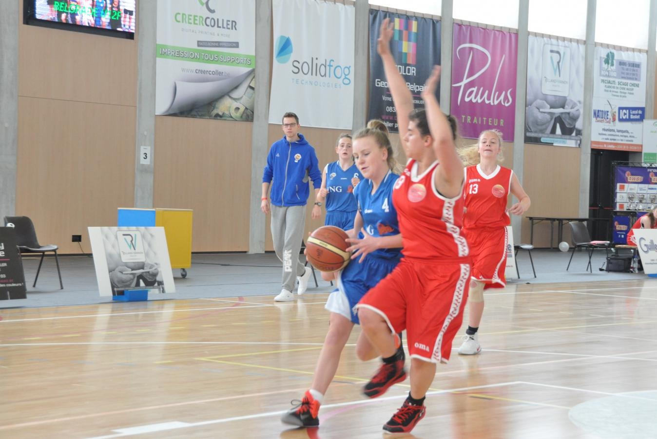 16/04/17 : U16F ROCHEFORT / CINEY - Finale de coupe