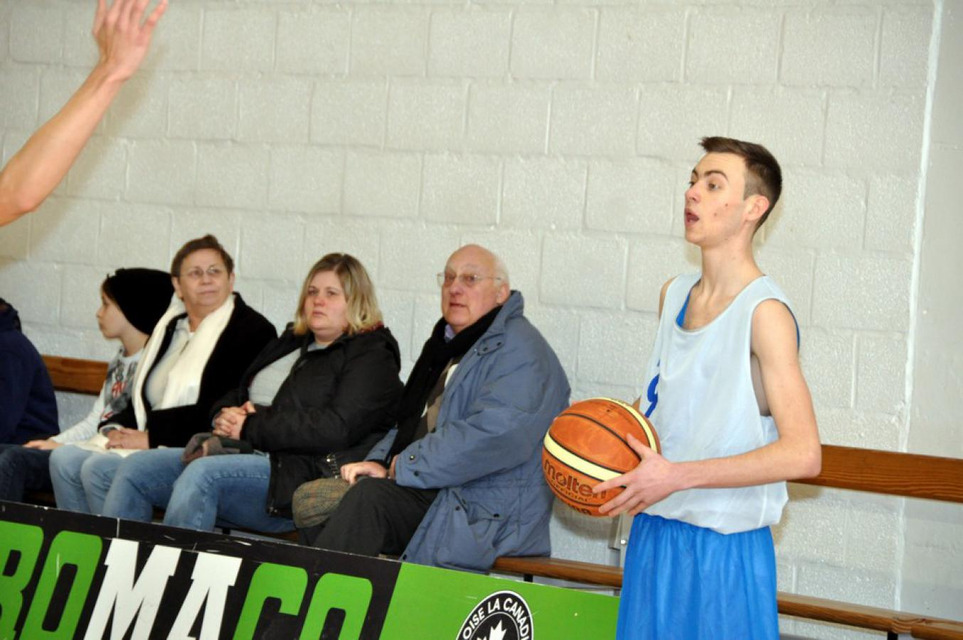 19/01/19 : U17G AWBB CINEY / ECOLE EUROPEENNE