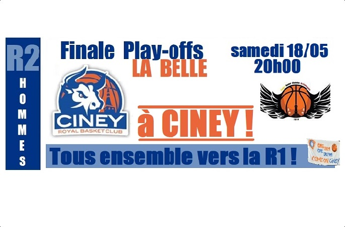 FINALE PLAY-OFFS R2 hommes GAME 3