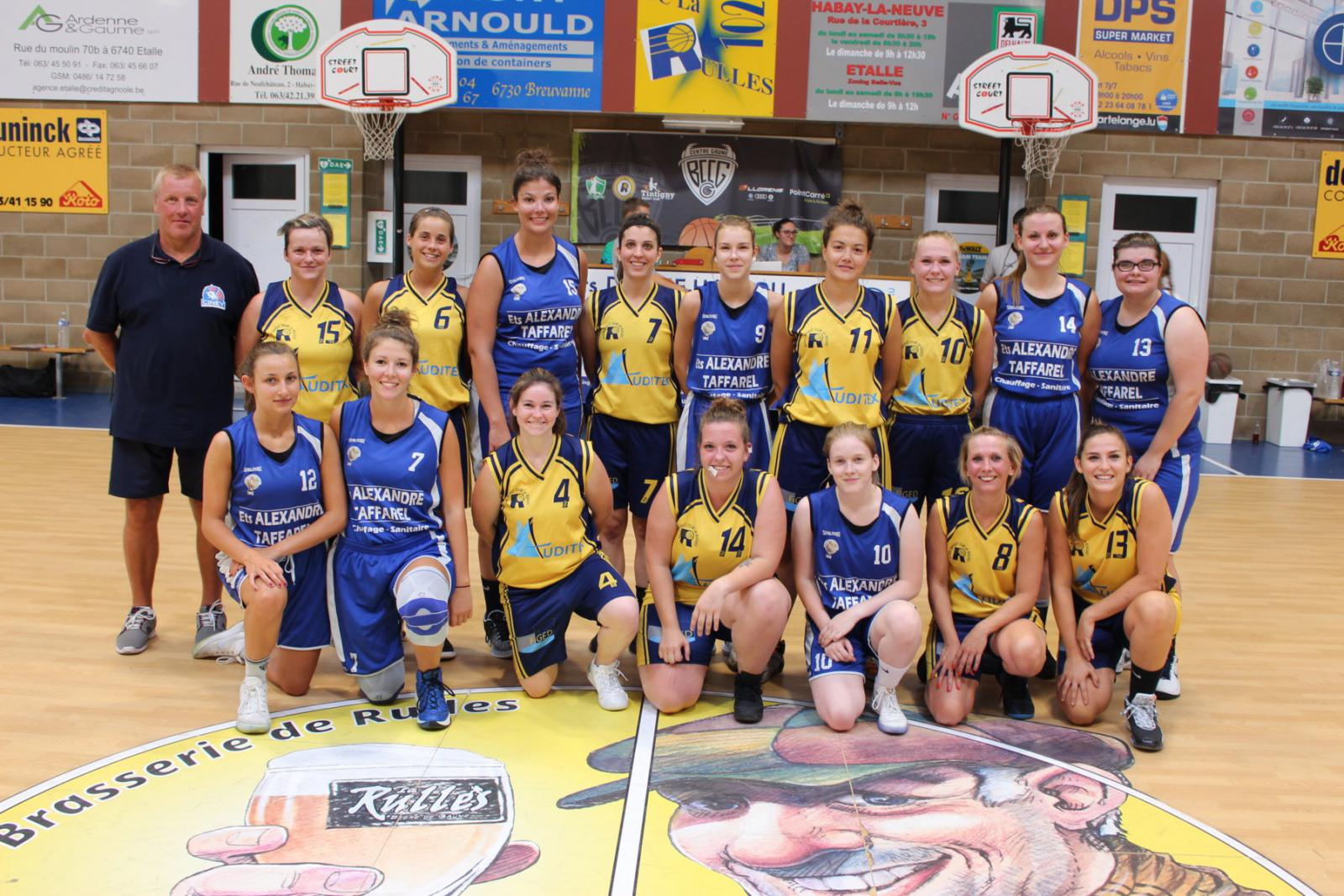 24/08/19 : P2 dames C - Jumelage CENTRE GAUME LA RULLE / CINEY