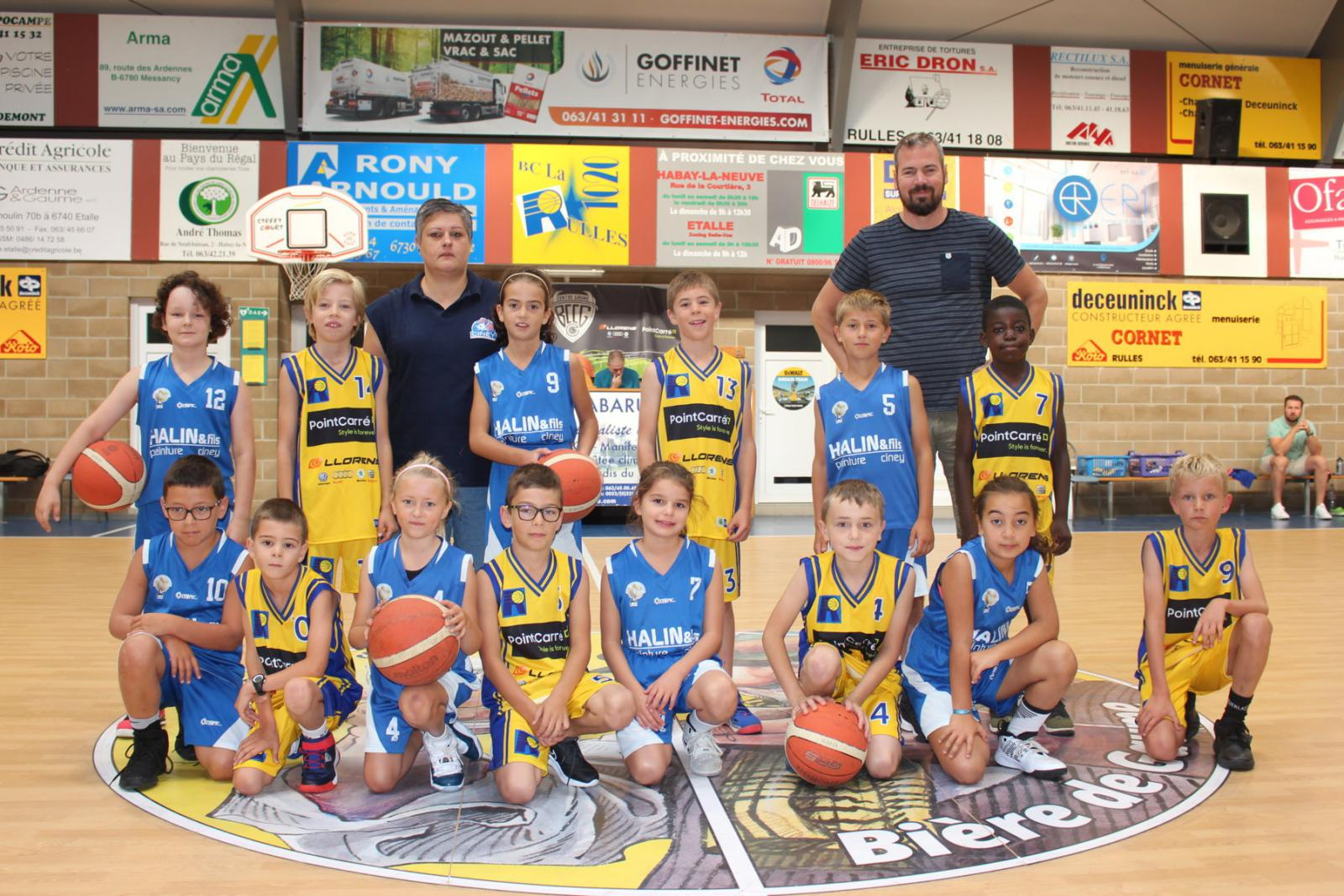 24/08/19 : U10 mixtes A - Jumelage CENTRE GAUME LA RULLE / CINEY
