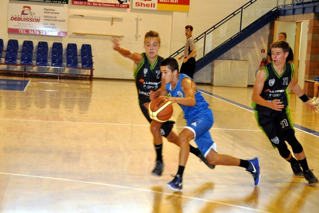 25/08/18 : U17 G AWBB CINEY / CENTRE GAUME