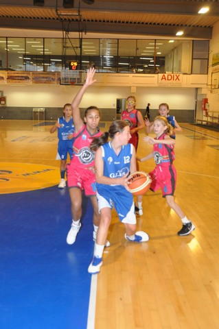22/09/18 : U14 Filles AWBB CINEY / JUNIOR ARLONAIS