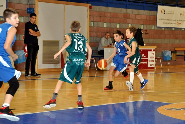 01/12/18 : U14 G Prov CINEY A / BELGRADE