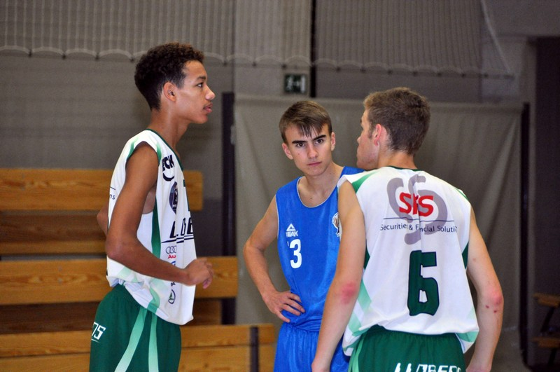 30/09/17 : U18 NEUFCHATEAU / CINEY Coupe AWBB