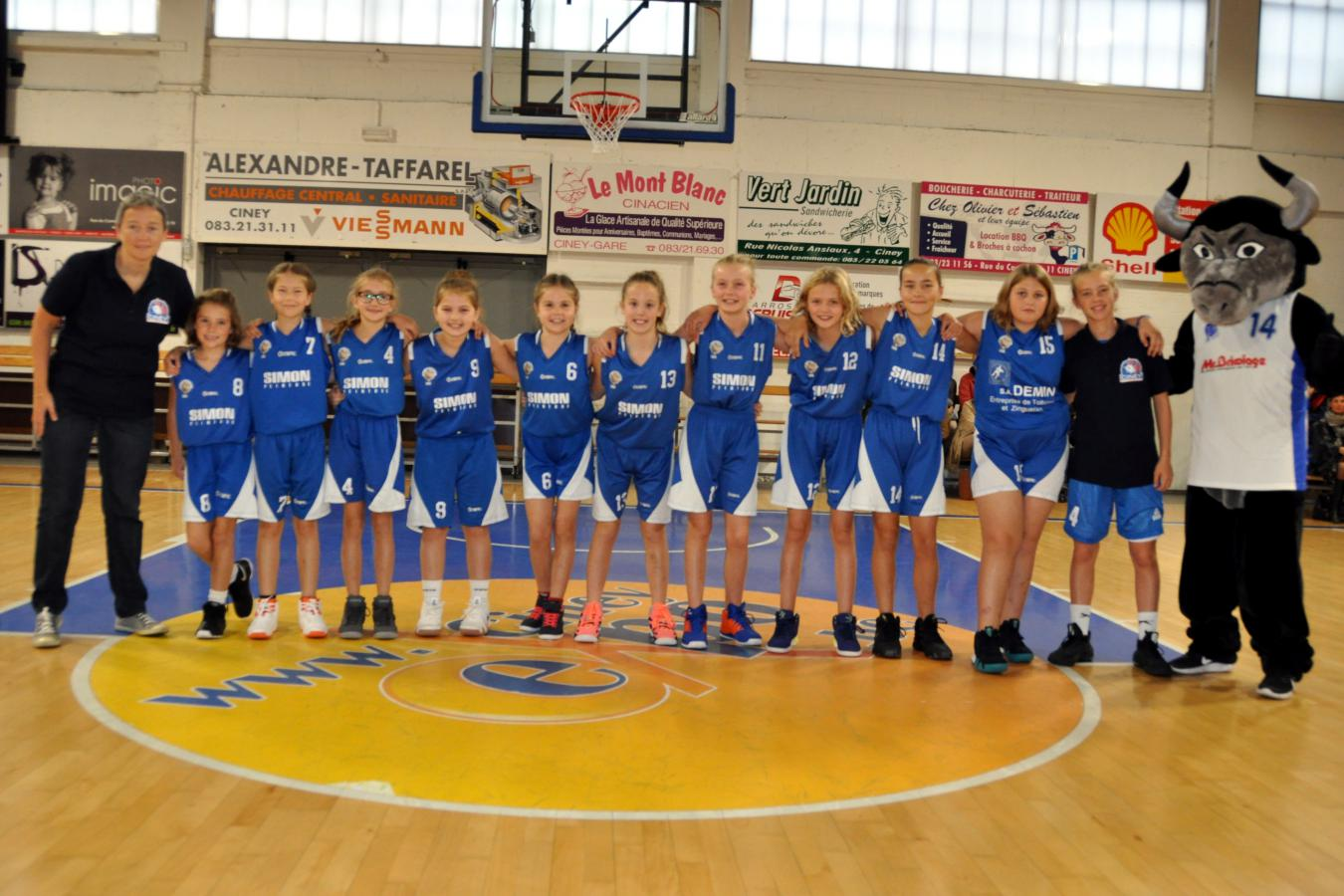 U12 filles CINEY C