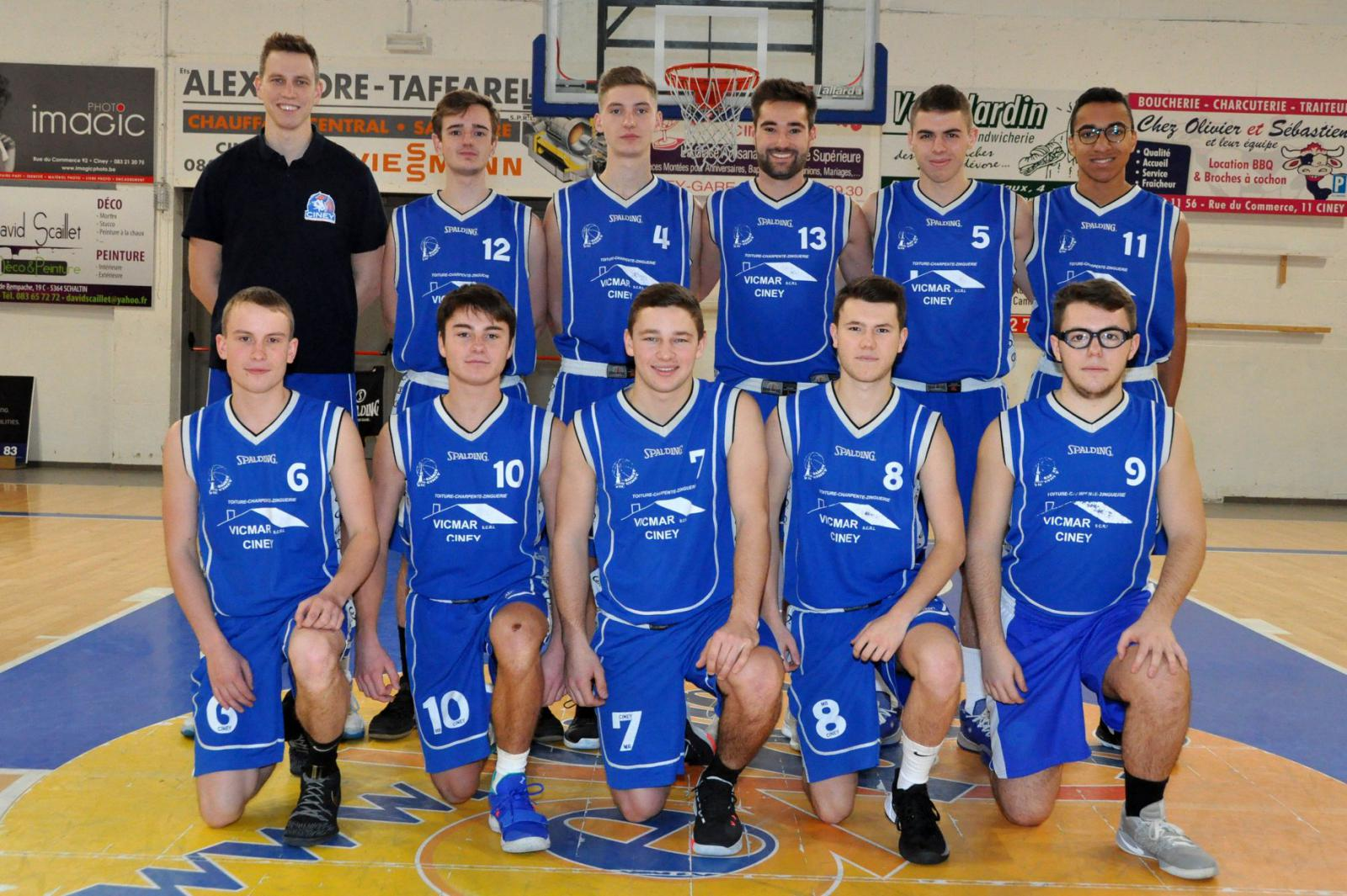 P3 Hommes CINEY C - Royal Basket Club Ciney
